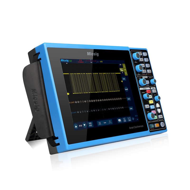 Micsig STO1102E - Osciloscopio Táctil Mixto Portátil 100MHZ / 2 Canales