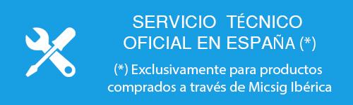 Servicio tecnico Micsig en España